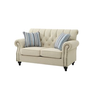 Glendale Standard Loveseat by Three Posts