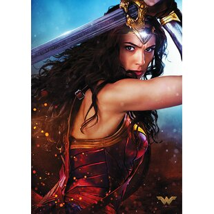 Wonder Woman The Sword of Justice Graphic Art Print  sc 1 st  Wayfair & Wonder Woman Wall Art | Wayfair