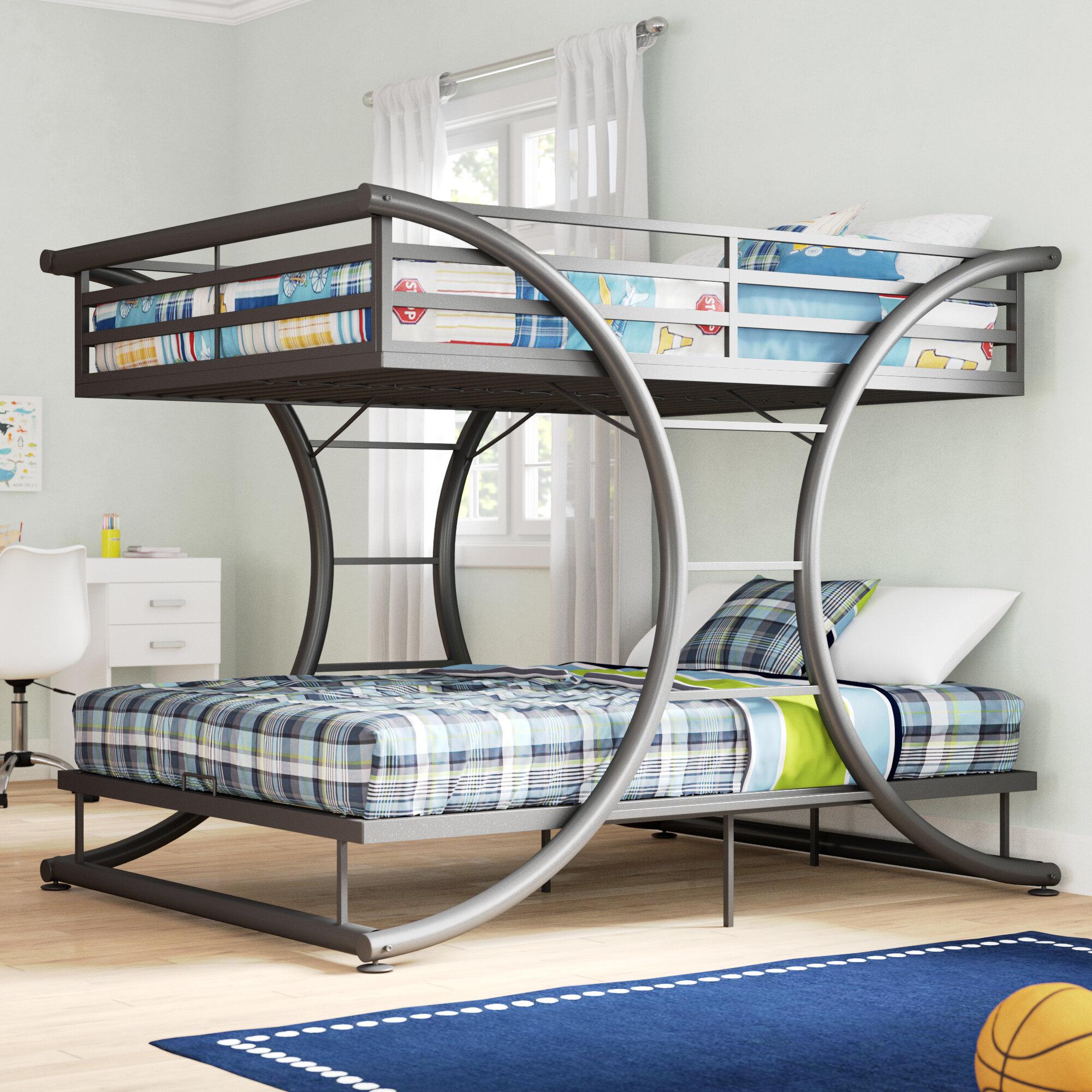 detail bunkbed f bed over furniture kids bedroom full beds mecca bunk fbb