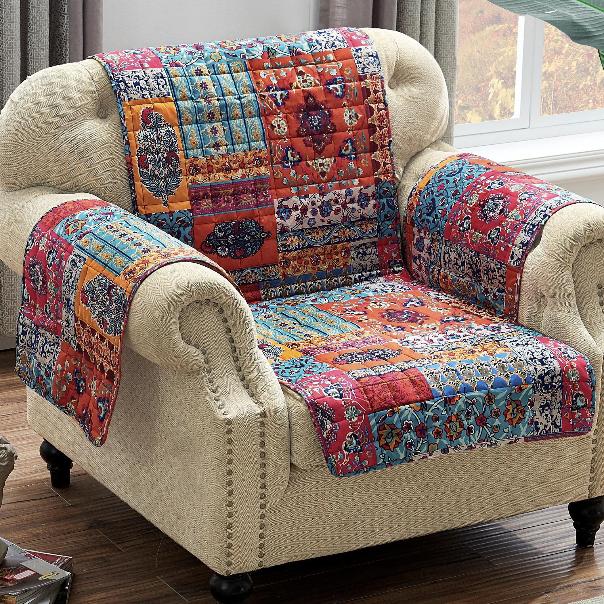 World Menagerie Paisley Slipcover Wayfair