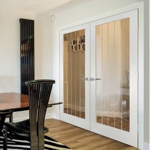 Cottage Hollow Glazed MDF Slab Internal Door