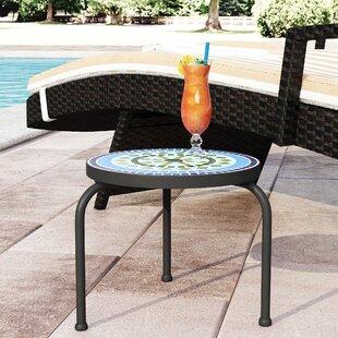 Sebago Stone Concrete Side Table