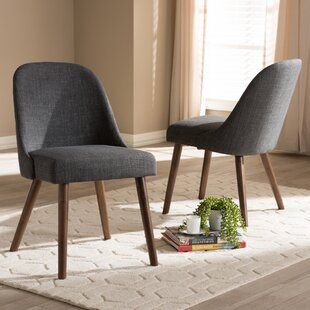 Croom Mid-Century Upholstered Dining Chair (Set of 2)