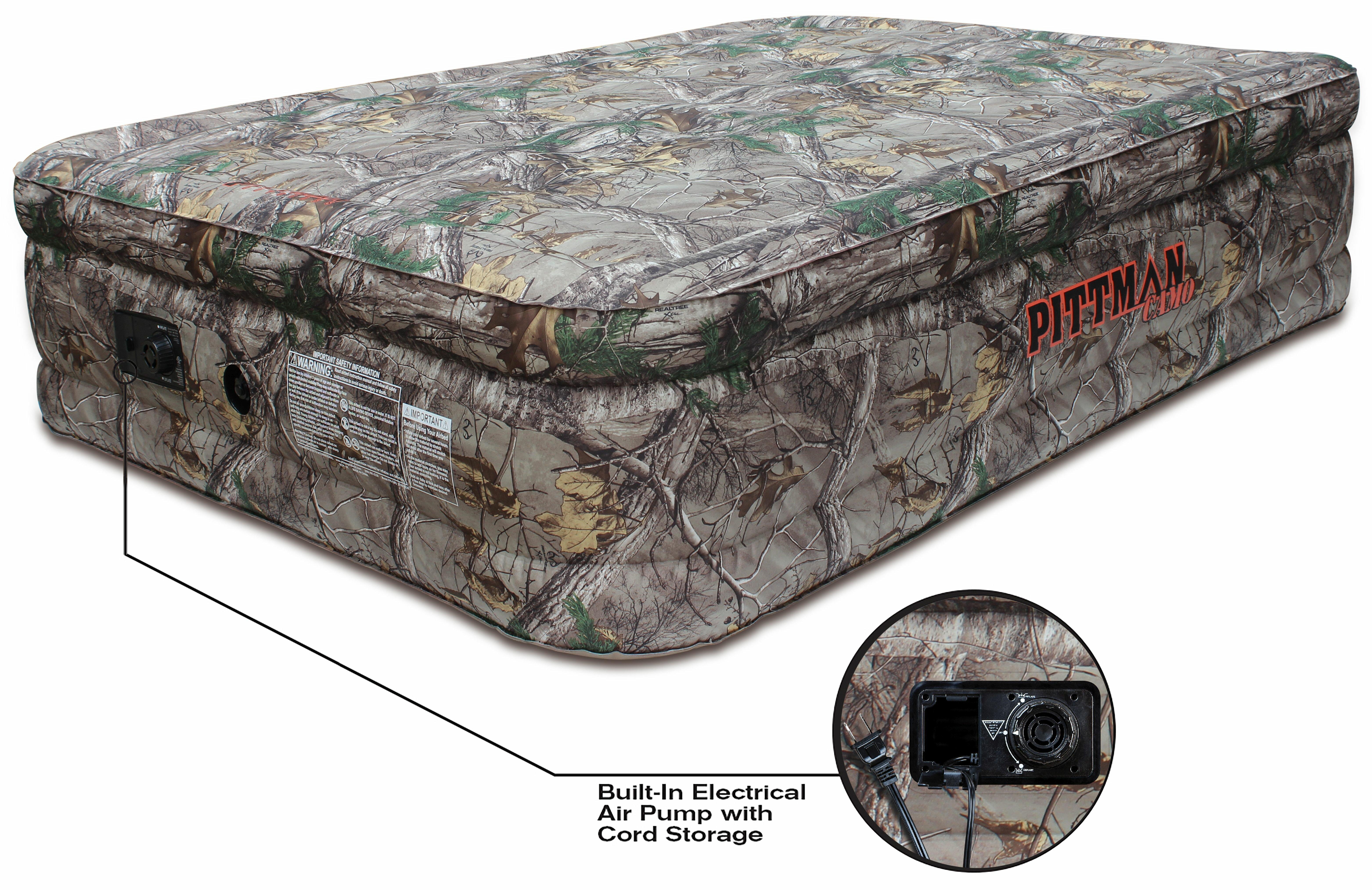Heavy Duty Air Mattress >> Pittman Outdoors Realtree Extra Camoflage Fabric Extreme 20 Air