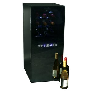24 Bottle Dual Zone Freestanding Wine Cooler by Koolatron