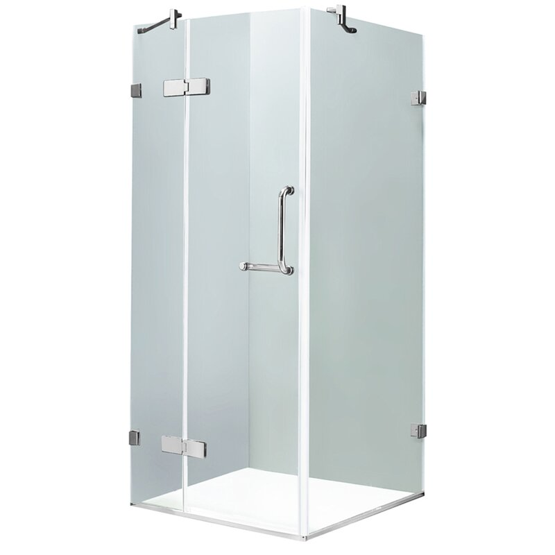 Vigo monteray 32 x 32 in frameless shower enclosure with 375 in frameless shower enclosure with 375 in planetlyrics Gallery