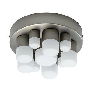 Pimental 10-Light LED Flush Mount by Bright Life