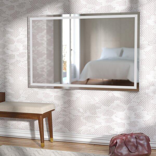 Wade Logan Aluminum Frame Electric Wall Mirror Amp Reviews
