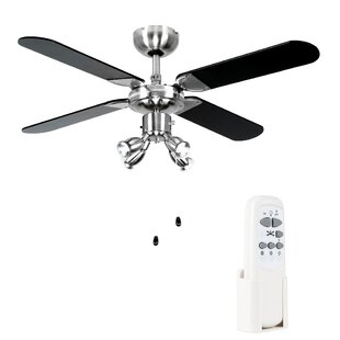 106cm Scimitar 4 Blade Ceiling Fan