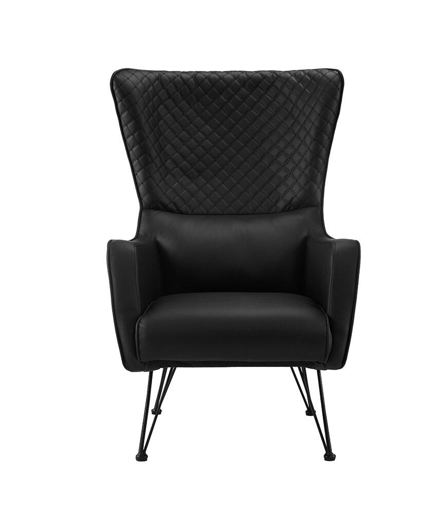 Wrought studio bianco wingback chair reviews wayfair