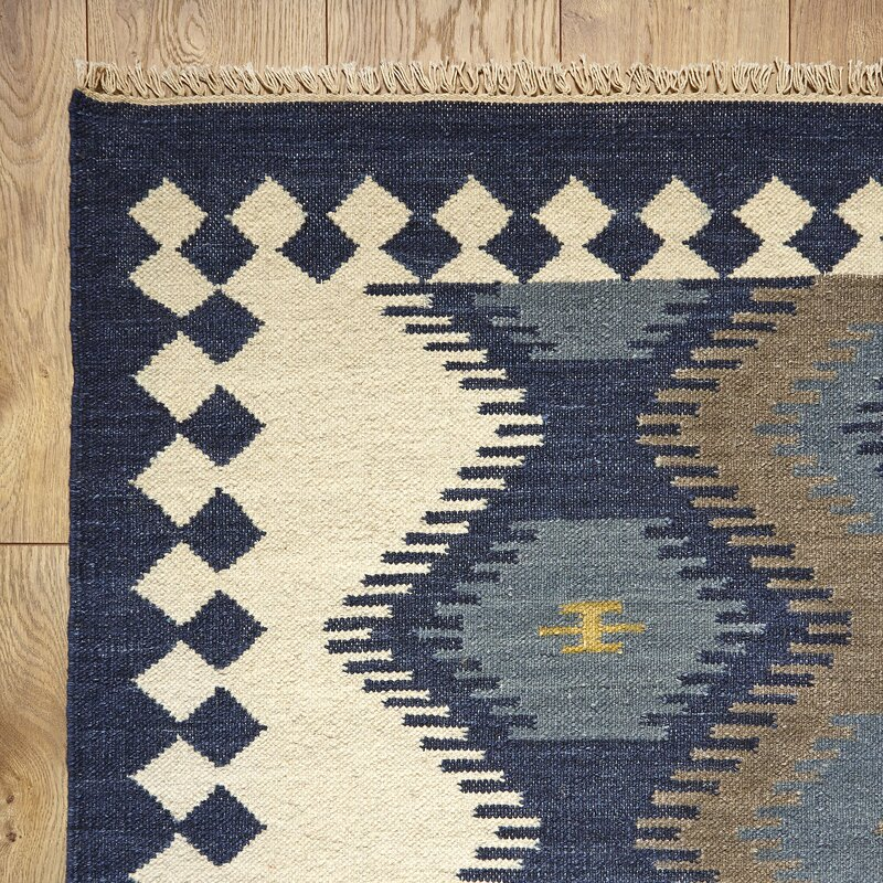 Anatolia Flat Woven Wool Area Rug