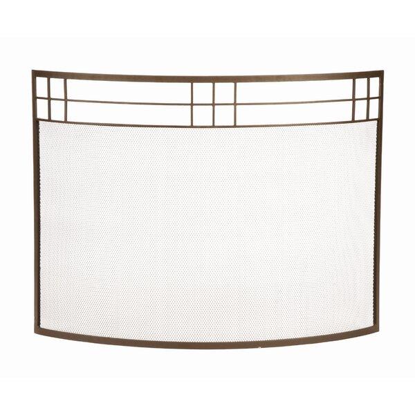 Iron Fireplace Screens minuteman arts and crafts curved wrought iron fireplace screen
