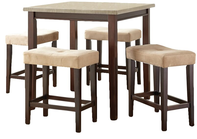 Covedale 5 Piece Counter Height Dining Set. Counter Height Dining Sets You ll Love   Wayfair