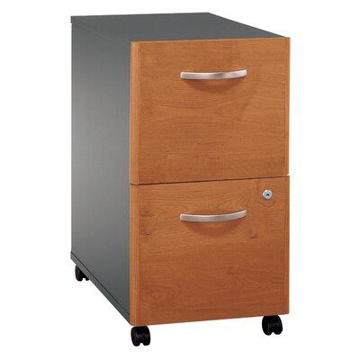 Bush Business Furniture Series C 2 Drawer Vertical File Finish: Natural Cherry