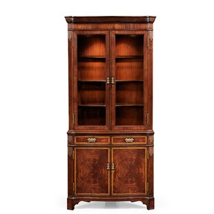 Buckingham Serpentine Corner China Cabinet