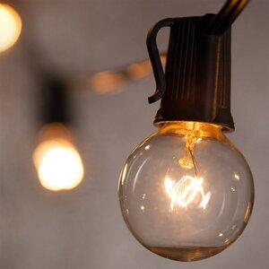 15-Light Globe String Lights