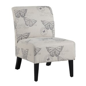 Gallaway Lily Slipper Chair by Andover Mills