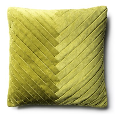 Brayden Studio Northwick Cotton Pillow Cover Color: Green