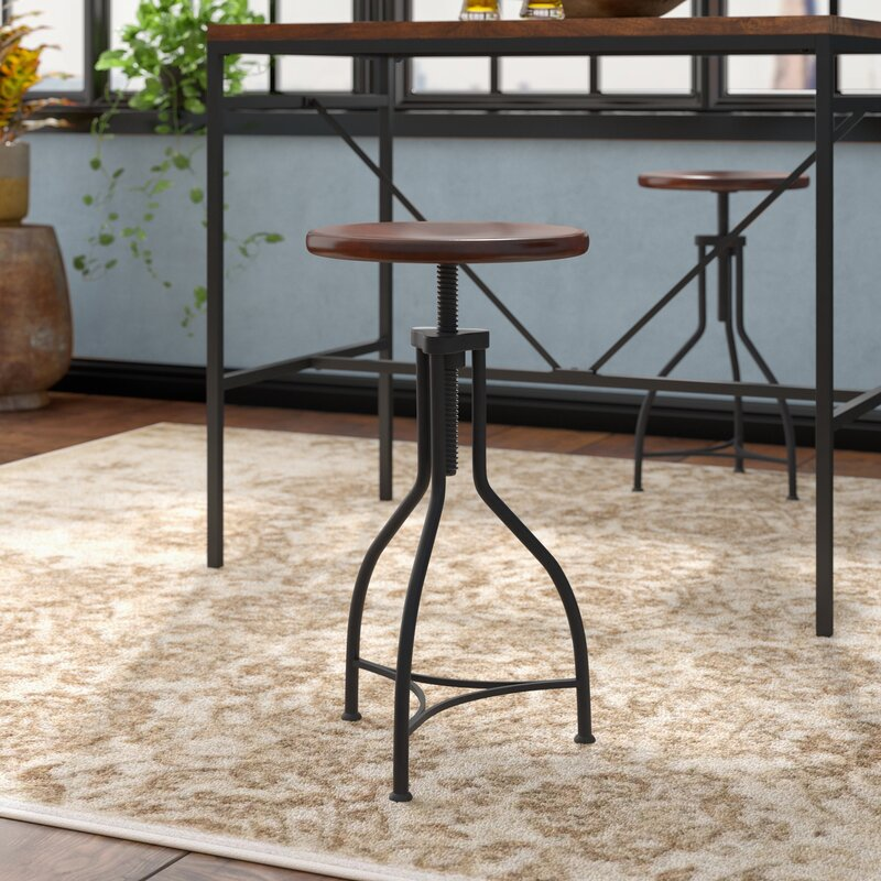 Trent Austin Design Elgin Adjustable Height Swivel Bar