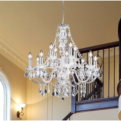 Endon lighting classy candle style chandelier reviews wayfair classy candle style chandelier aloadofball Images