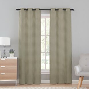 Brown And Beige Curtains Wayfair
