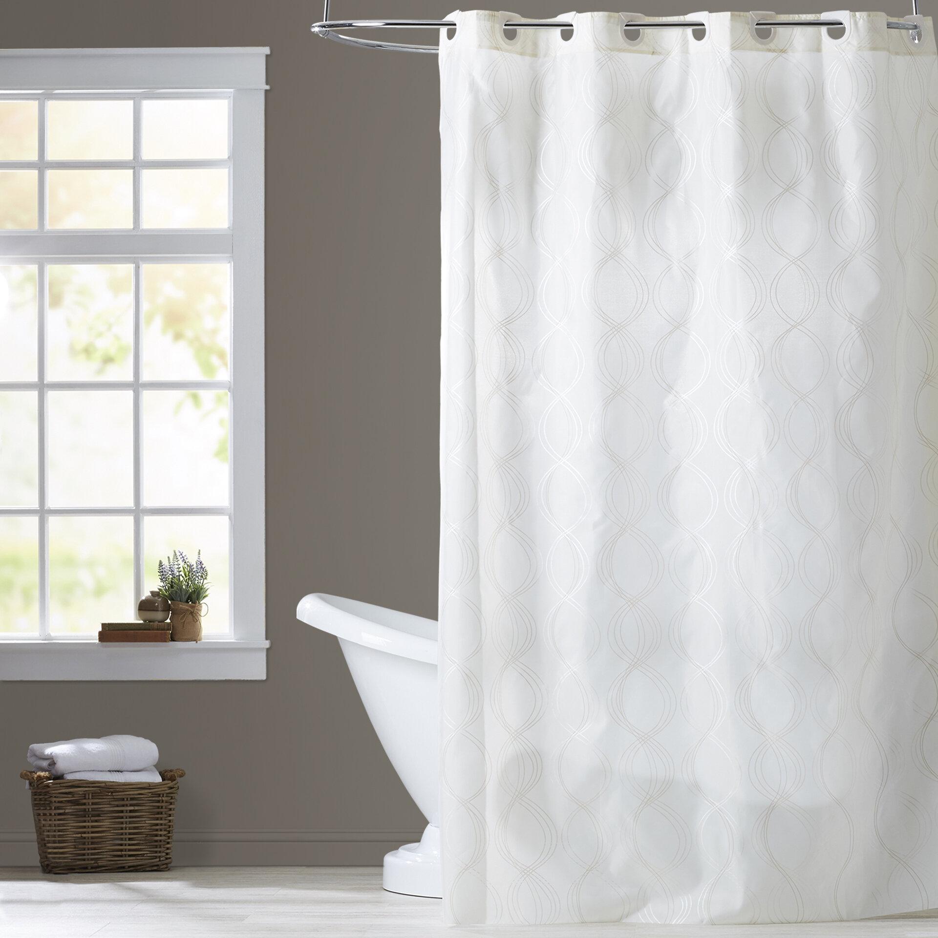 Birch LaneTM Ivory Shower Curtain Reviews