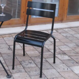 Ordinaire French Café Bistro Stacking Patio Dining Chair (Set Of 2)