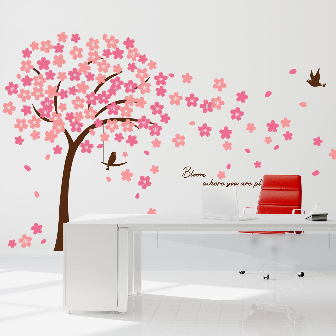 b94b2264b93 Walplus Cherry Blossom Wall Decal   Reviews