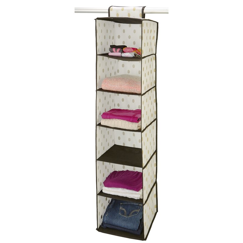 Closet Candie Macbeth 6Compartment Hanging Organizer Reviews