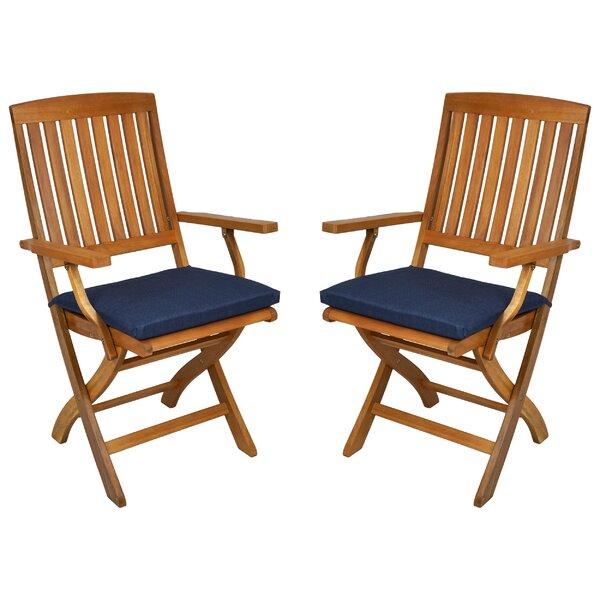 Blazing Needles Indoor/Outdoor Folding Patio Chair Cushion U0026 Reviews |  Wayfair