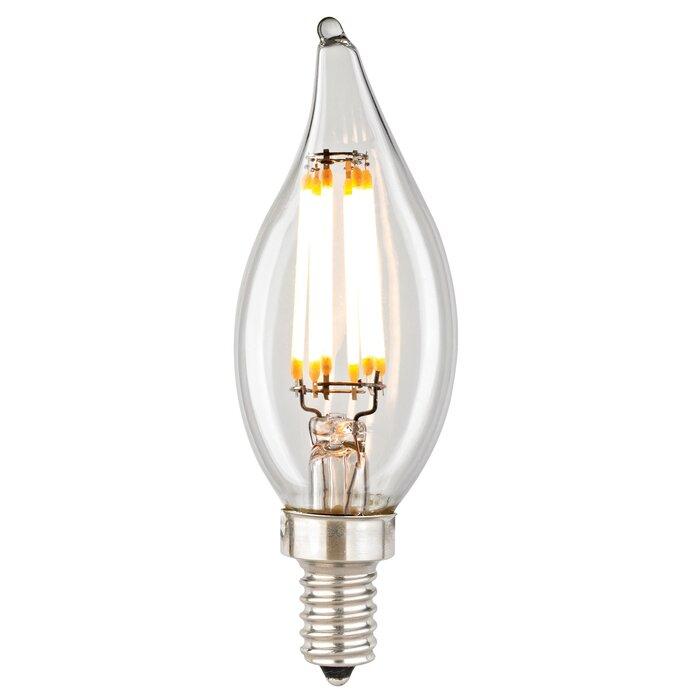Filament 6 Wattage Candelabra LED Light Bulb