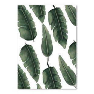 banana leaf wall art wayfair