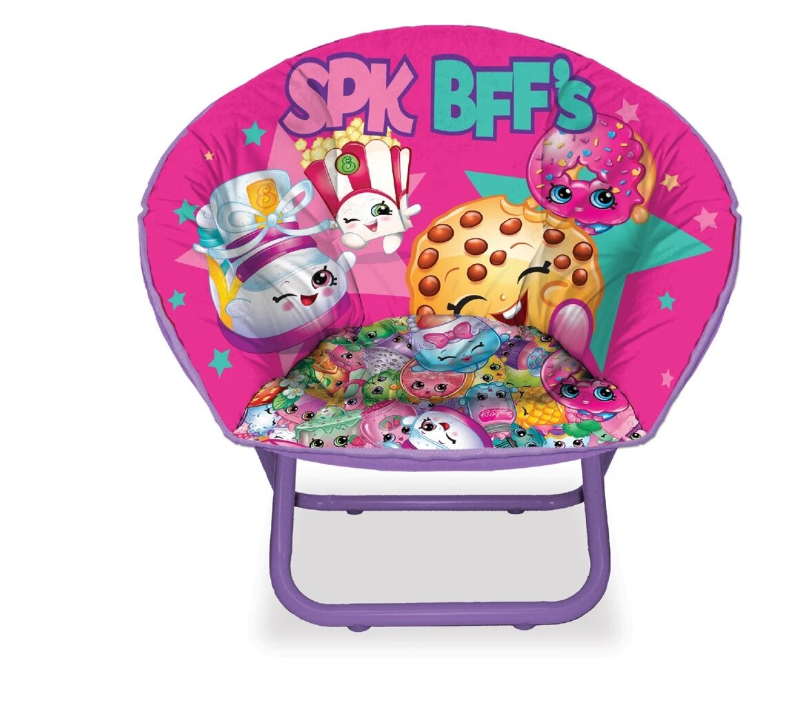 sc 1 st  Wayfair & Idea Nuova Shopkins Kids Saucer Chair | Wayfair.ca