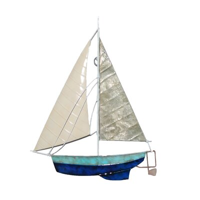 Breakwater Bay Sailboat Metal Wall Decor & Reviews | Wayfair