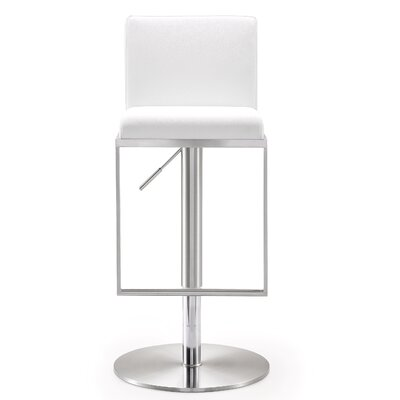 Leather White Bar Stools You Ll Love In 2019 Wayfair