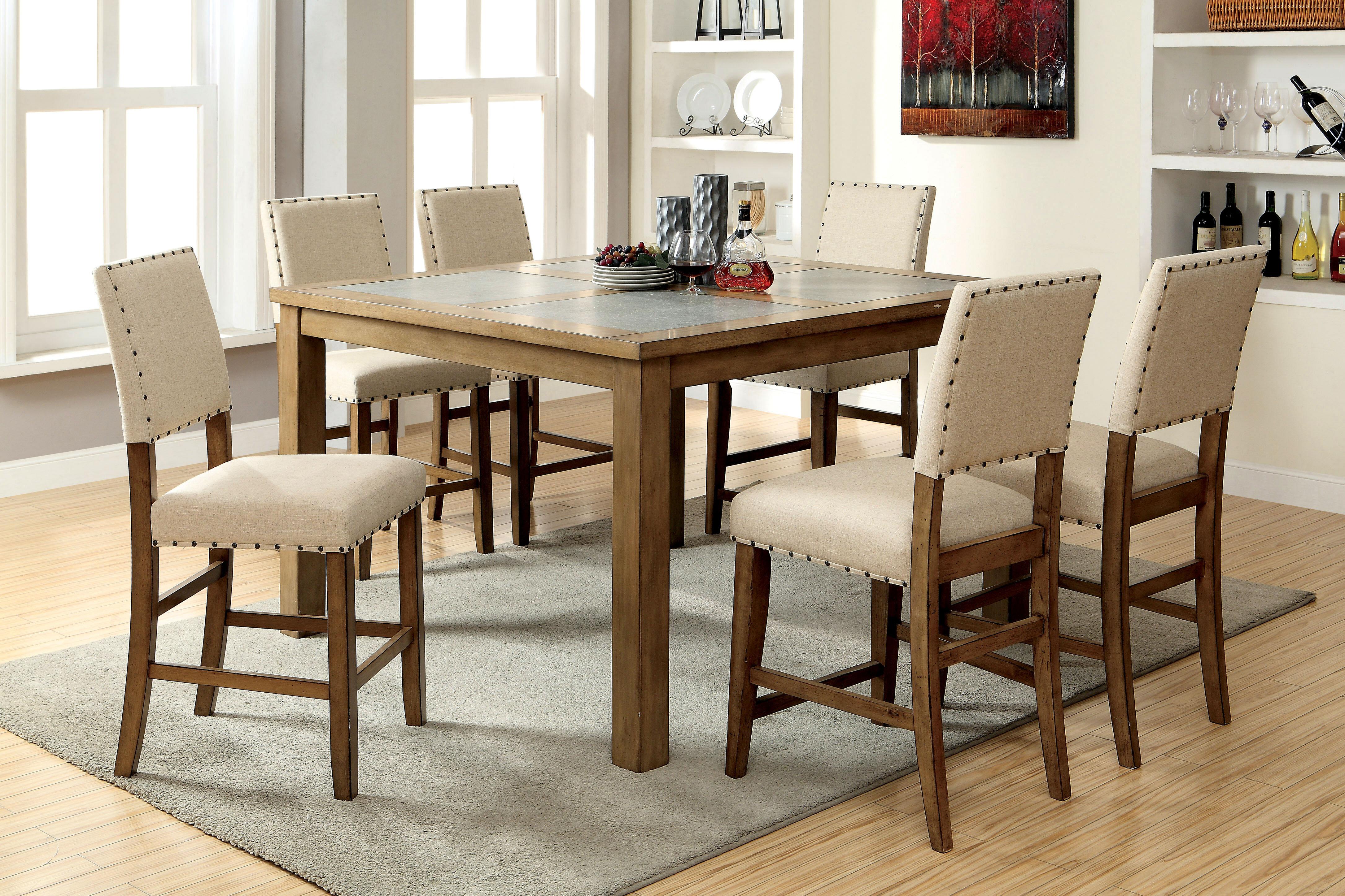 Superbe Crafton 9 Piece Pub Table Set