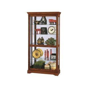 Brochu Lighted Curio Cabinet