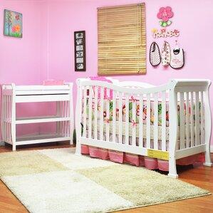 Babcock Convertible 2 Piece Crib Set