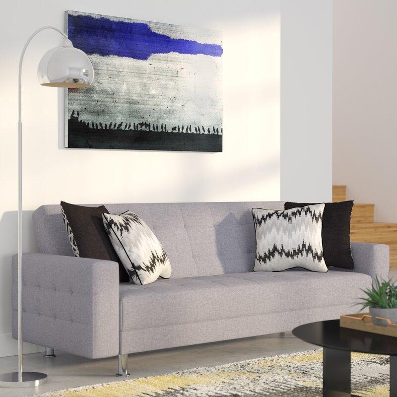 Wade Logan Spirit Lake Convertible Sleeper Sofa & Reviews