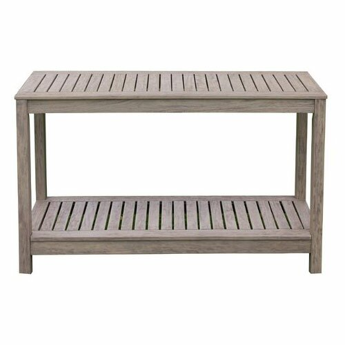 Outdoor console table Contemporary Wayfair Outdoor Console Tables Youll Love Wayfair