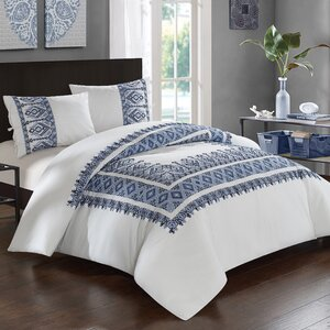 Sarita Garden 3 Piece Comforter Set