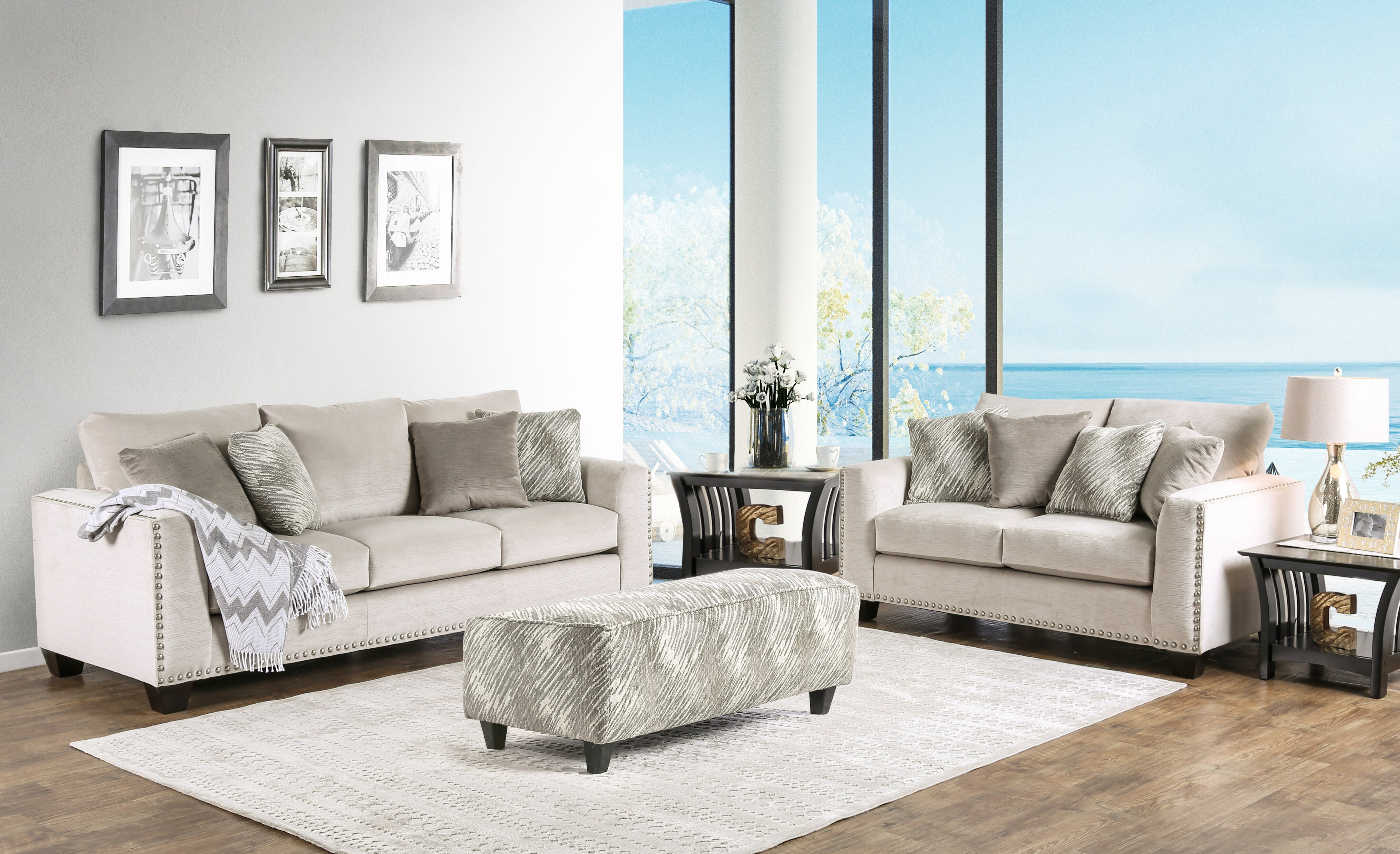 Brayden Studio Pinero Configurable Living Room Set | Wayfair
