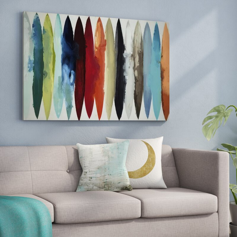 Langley Street Even Flow Painting Print Amp Reviews