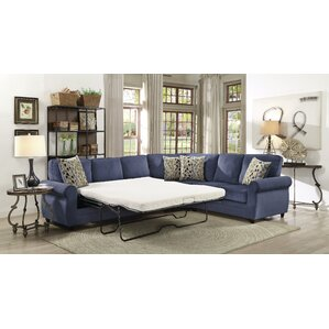 Ezekiel Corner Sleeper Sectional by Charlton Home