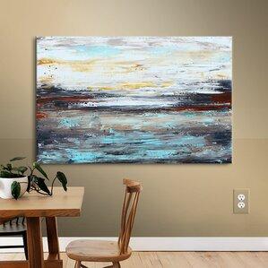 Abstract Wall Art Canvas abstract paintings & abstract wall art you'll love | wayfair