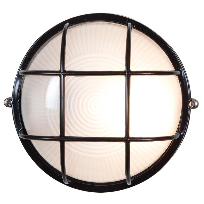 Beachcrest home rivka 1 light outdoor bulkhead light reviews rivka 1 light outdoor bulkhead light aloadofball Images