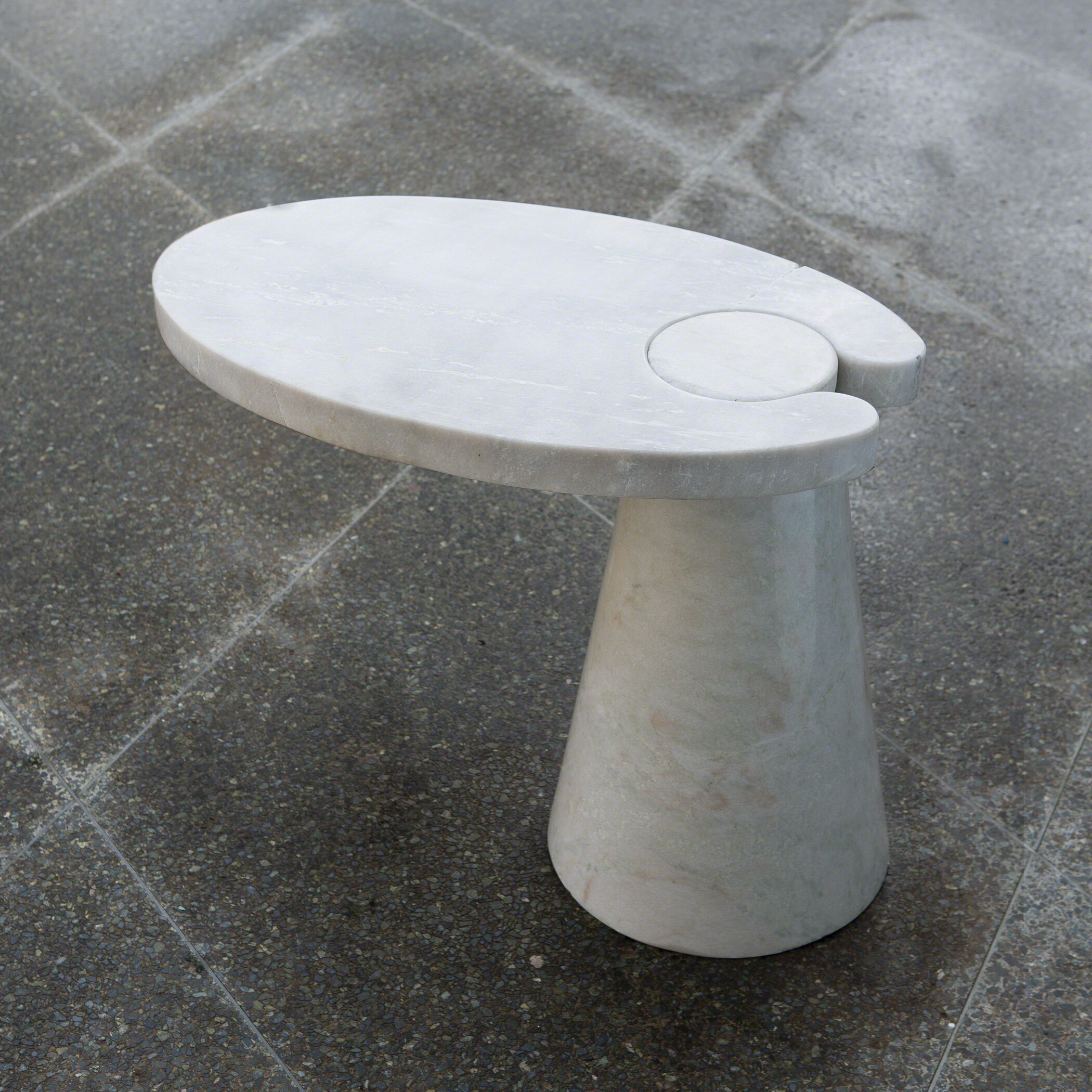 Cone Cantilever End Table