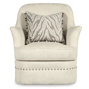 Melania Swivel Armchair by House of Hampton