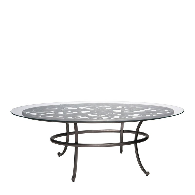 New Orleans Oval Umbrella Coffee Table