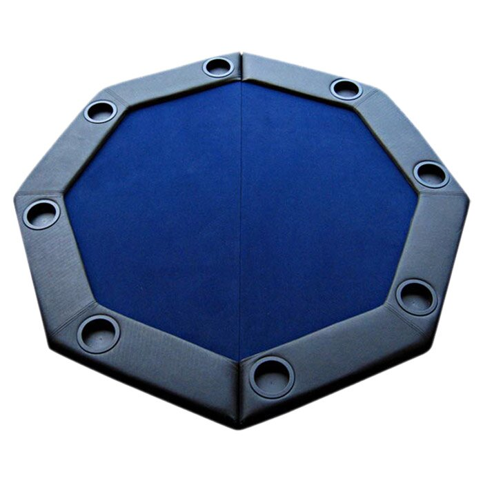 Padded Octagon Folding Poker Table Top